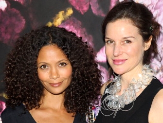 Thandie and Elizabeth Peyton Jones